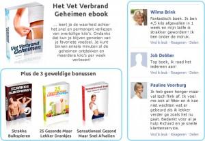Review Vet Verbrand Geheimen boek