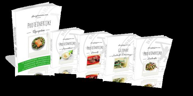 Review proteïnerijke recepten pakket